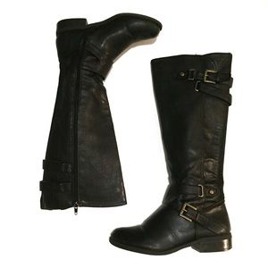 G by Guess black knee high riding boots 6.5